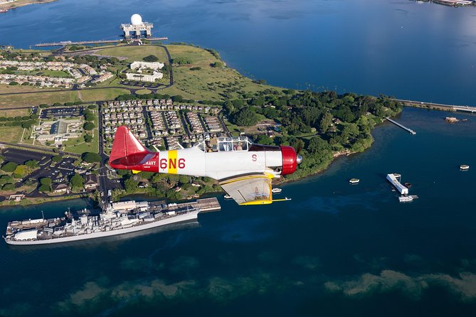 Oahu Pearl Harbor Warbird Flight Adventure