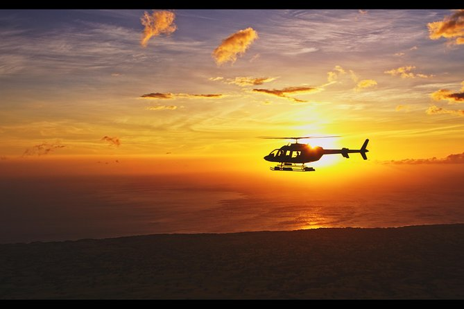 Helicopter Sunset Experience Tour from Kona