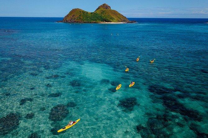 Excursion en kayak dans la baie de Kailua avec déjeuner
