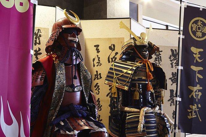 Guidet tur + Samurai & Ninja-oplevelse
