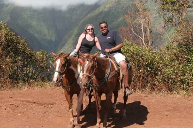 Visite de Maui à cheval