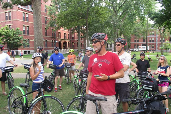 Cycle through Harvard University and stop in