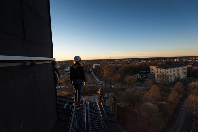 Roofwalk on Uppsala castle