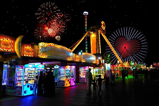 Afternoon Dubai Global Village&Miracle Garden Tickets & Hotel Pickup & Drop-off