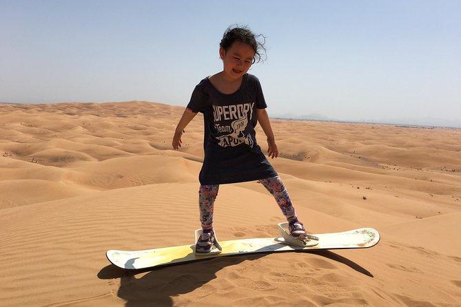 Dubai Sandboarding