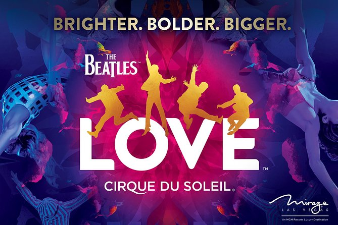 The Beatles™ LOVE™ by Cirque du Soleil® at the Mirage Hotel and Casino