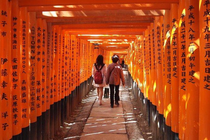 Fushimi Inari og Sake Tasting Tour