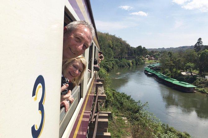 Da Bangkok: Tour di Kanchanaburi, mercati ferroviari e galleggianti