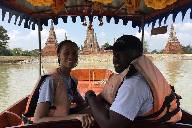 Small Boat Tour around Ayutthaya Historical park