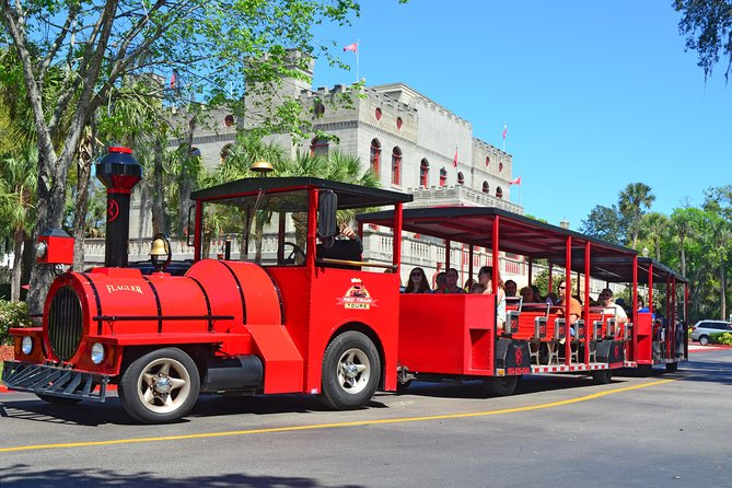 Ripley's Red Train Hop-On Hop-Off Tour in St Augustine, Florida
