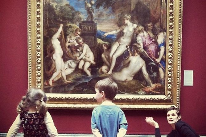 National Gallery of London Guided Tour for children and families with kids friendly guide