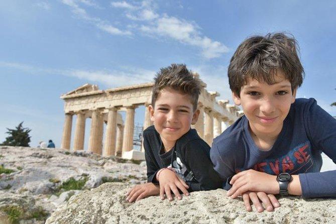 Lugares destacados de la ciudad de Atenas, Acrópolis y Partenón Tour privado para niños