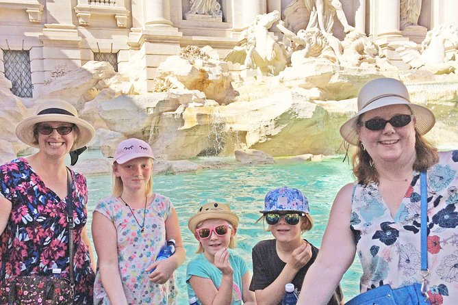 Spanish Steps, Trevi, Pantheon & Piazza Navona Private Tour for Kids & Families