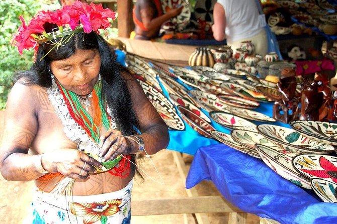 Authentic Embera Indian Village Tour