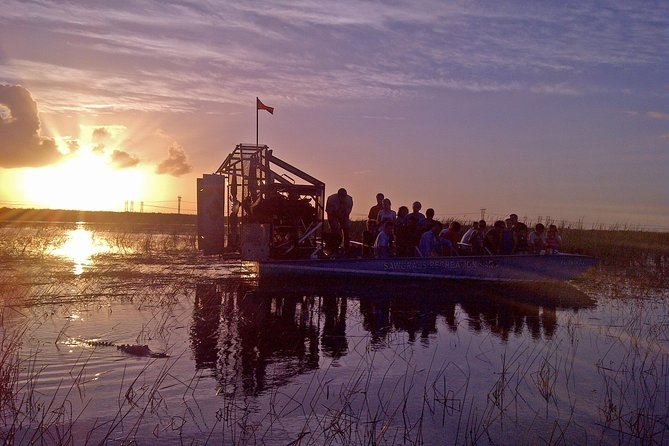 Florida Everglades Night Airboat Tour near Fort Lauderdale