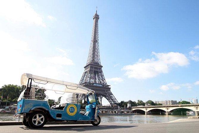 Sainte Chapelle, Louvre & Tuk Tuk Ride Family Tour