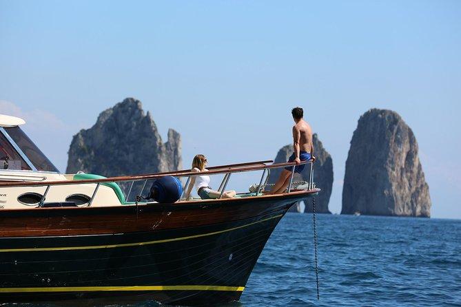 Sorrento Coast and Capri boat tour from Amalfi