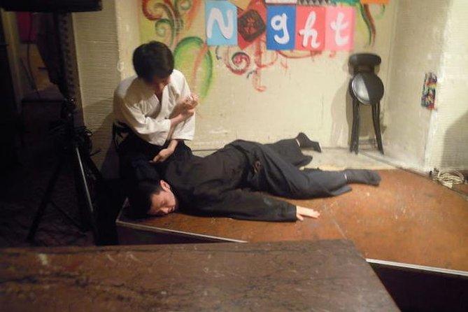 Aikido activity in Shinjuku, Tokyo