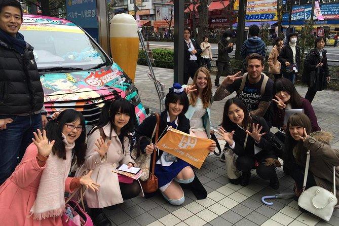 Vandringstur med en hushjelp fra Ueno Ameyoko til Akihabara!