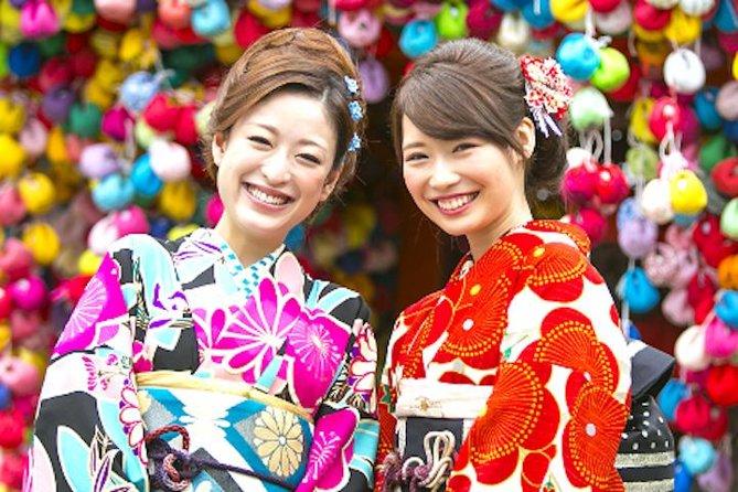 Autentisk Kimono Plan i Kyoto