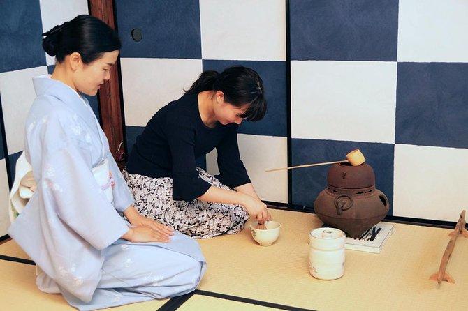 Te Ceremony erfaring og smaker kurs i Kyoto