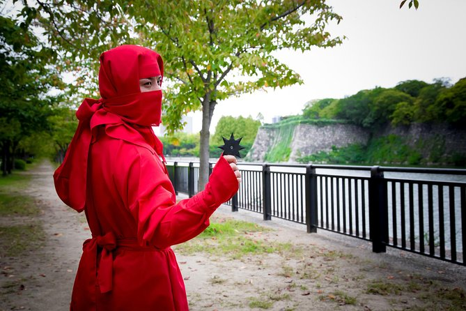 Ninja Walking Plan nær Osaka Castle