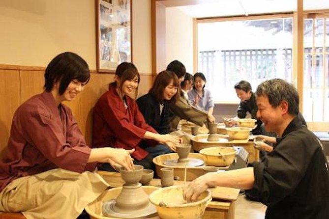 Electric Potter's Wheel Experience in Kyoto: Make Your Own Souvenir
