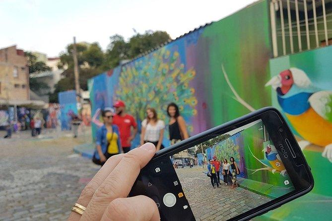 Sao Paulo: Vila Madalena Urban Art & Drink Walking Tour