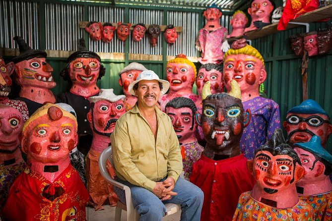 San Jose: Pura Vida Experience Tour - Tapas, Traditional Masks and Escazu Visit