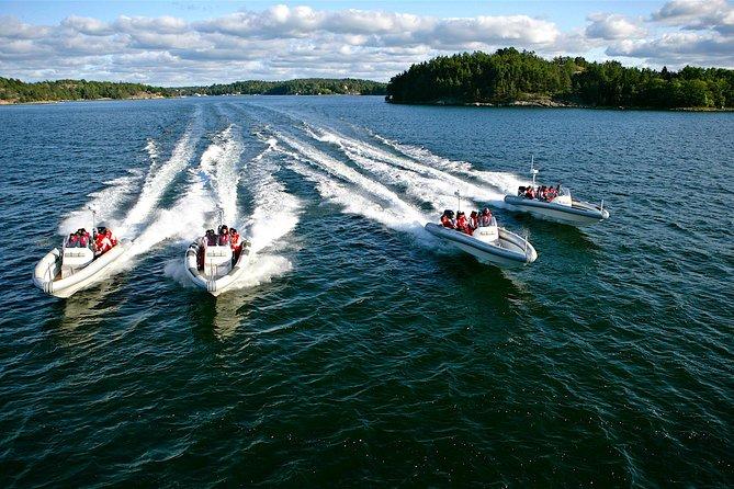 Stockholm RIB Speed Boat Tour
