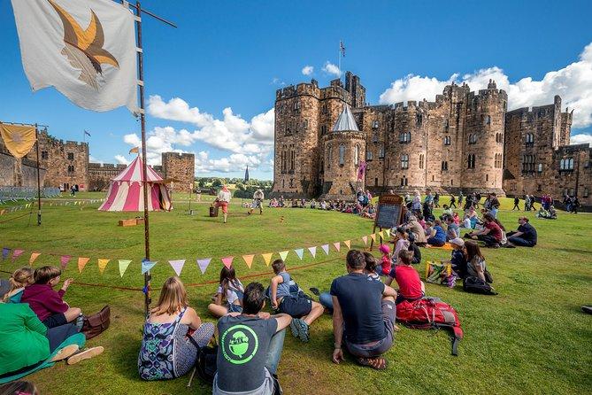Escapada de un día al castillo de Alnwick, que aparece en la película Harry Potter, y a los Scottish Borders desde Edimburgo