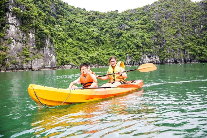 Halong Bay Cruise Tour from Hanoi with Kayak Adventure