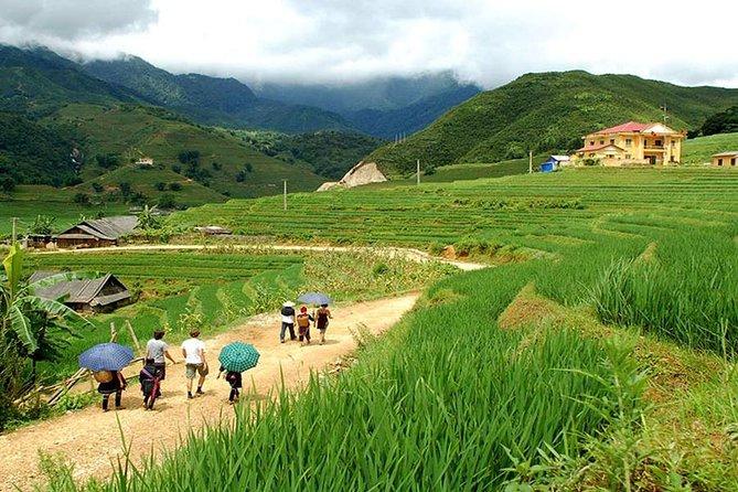 Trekking to the villages