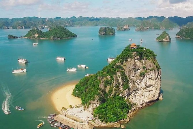 Halong Bay Excursion with Caving and Swimming