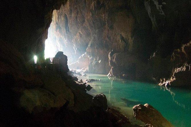 Dark Cave - Chay River Tour at Phong Nha National Park from Hue