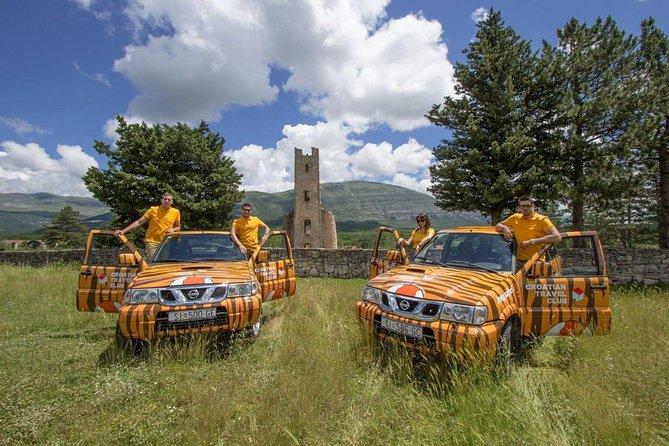 Dalmatian Historical Time Machine - Jeep Safari