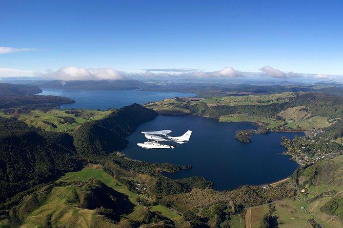 Mt. Tarawera Volcano Scenic Floatplane Tour from Rotorua