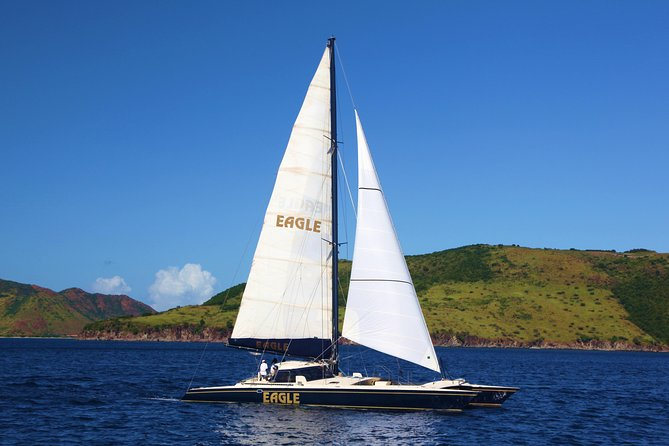 The Narrows Sail and Snorkel Tour from Nevis (Reconfirm 48hrs)