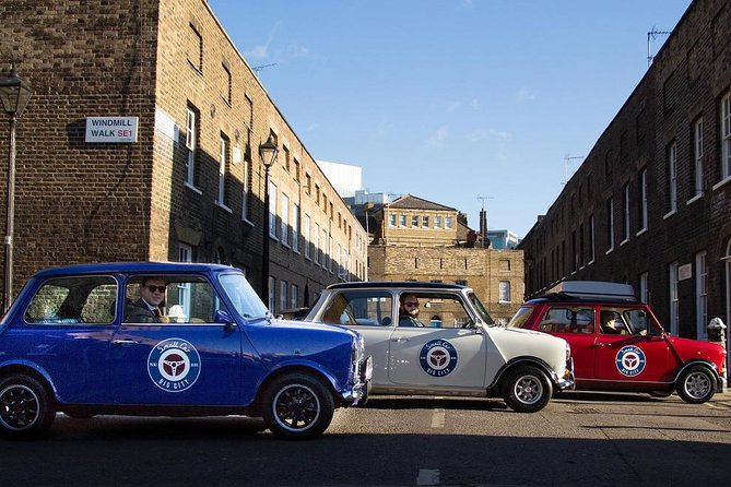 London Gin Tour by Classic Mini Cooper