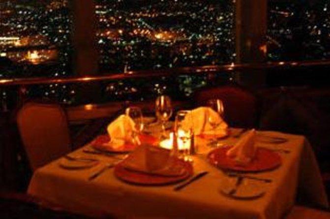 Jantar no Bellini Restaurante Giratório na Cidade do México
