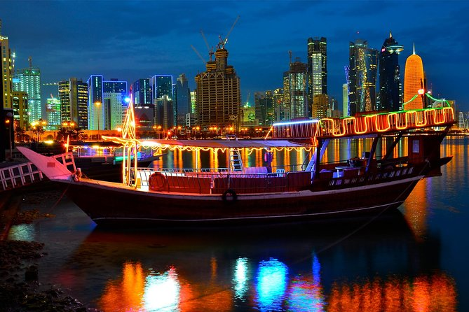 2-Hour Doha Corniche Walk and Dhow Cruise 2020