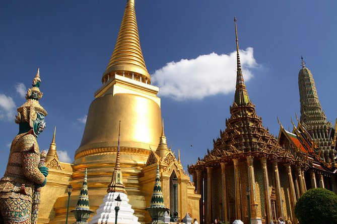 Bangkok Grand Palace, Wat Pho, and Canaltour with local transport