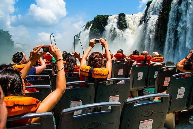 Safari Truck in the Jungle, Boat Ride and Argentinian Falls