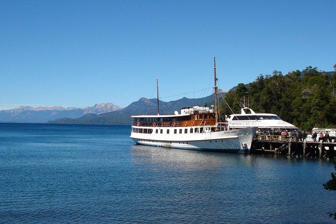 Viagem de barco para a Ilha Victoria e Floresta de Arrayanes