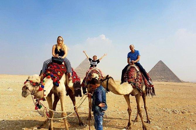 Private Tour Giza Pyramids,Sphinx, Sakkara ,Dahshur Pyramids,Lunch and Camel