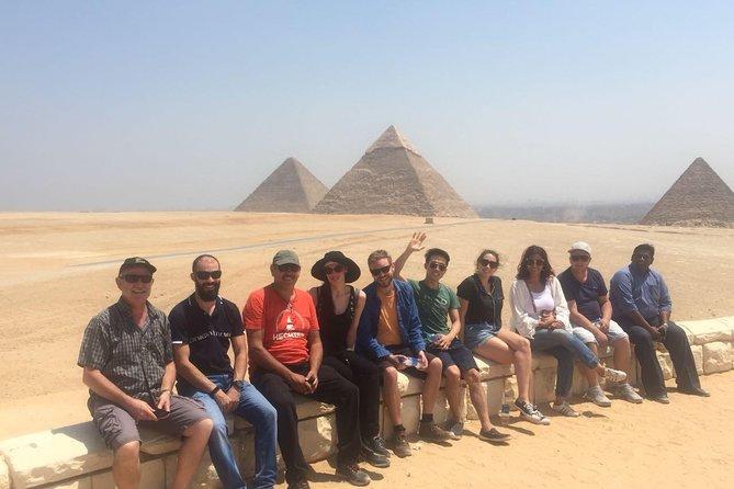 Excursão privada às Pirâmides de Gizé, Esfinge e Museu Egípcio