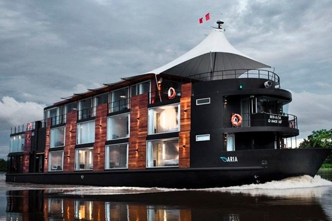 4 Day Amazon River Luxury Cruise from Iquitos on the 'Aria'
