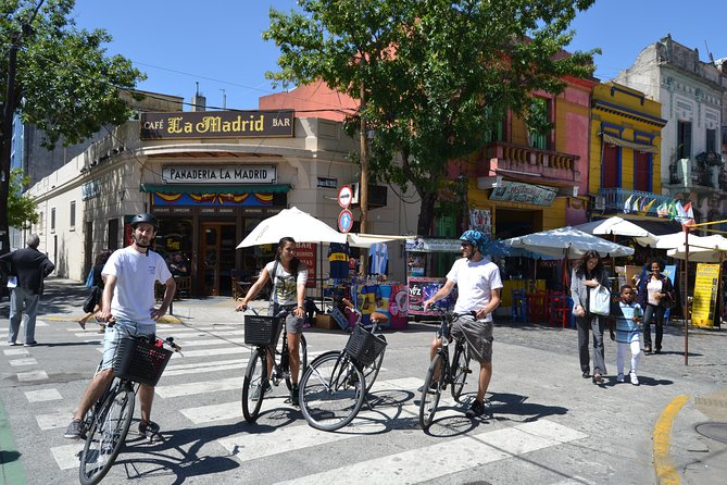 Buenos Aires South Culture and History Small-Group Bike Tour