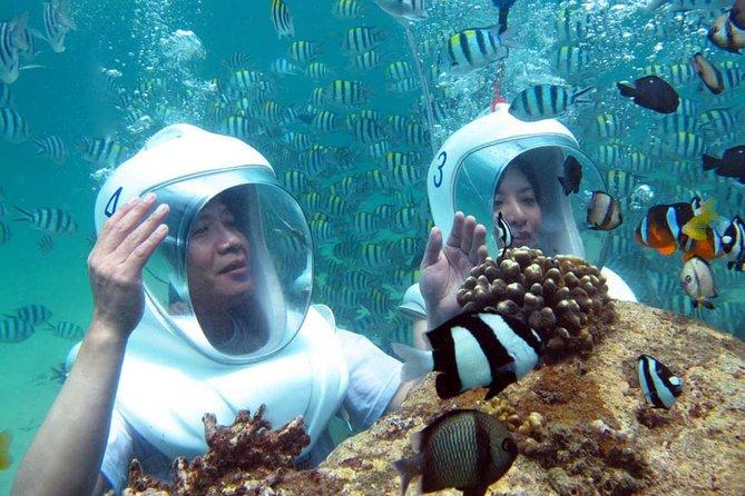 Sea Walking Bali included hotel transfer