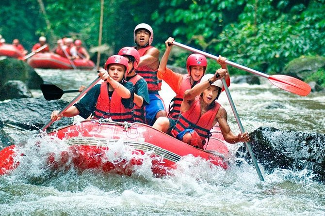 Bali Rafting and Tegalalang Kintamani Tour